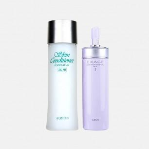 健康水+清爽活润渗透乳套装 | 先乳后水 水润柔嫩又保湿