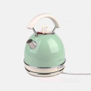 复古轻奢 高颜值电热水壶 | 蒸汽控温系统 自动断电
