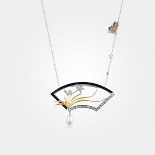 四君子胸针三戴款 | 芭莎珠宝设计师联名合作款