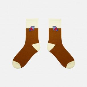 圣诞感受系列加厚纯棉袜子   经典的圣诞配色 柔软亲肤