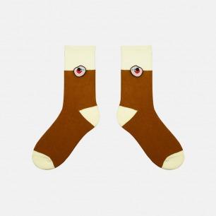 圣诞天气系列加厚纯棉袜子   经典的圣诞配色 柔软亲肤