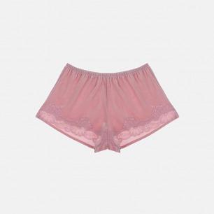 舒适保暖丝绒家居短裤  | 清新中带有一丝性感的味道