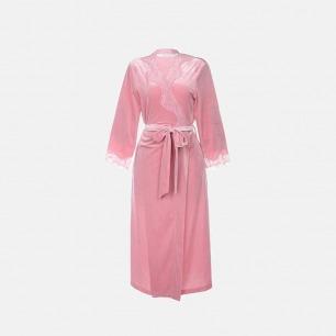 性感丝绒舒适保暖睡袍 | 优雅迷人  自带气场
