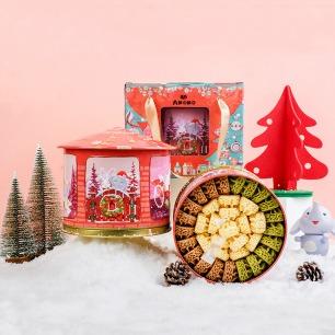 圣诞音乐盒里的曲奇雪花酥 | 美食+音乐 超幸福的礼物