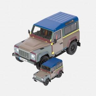路虎卫士90金属汽车模型   Paul Smith跨界设计定制款
