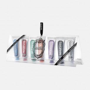 花样旅行牙膏套装7支装 | 牙膏中的爱马仕 独特设计