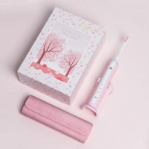 限量粉色U1声波电动牙刷 | 专业洁齿 获红点奖的好设计