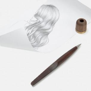 可收藏的原木金属笔 | 不用墨水 却永远也写不完