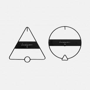 原创设计几何形铁艺挂钩 | 经典简洁而富有设计感