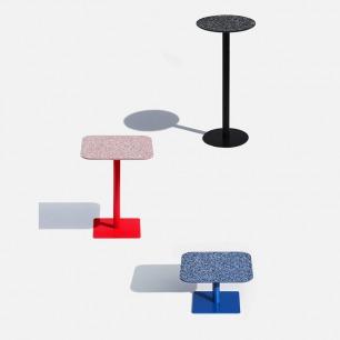 年代感十足的水磨石方桌 | 三宅一生都在用的元素