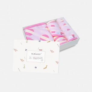 日本纯棉儿童纱布毛巾套装 | 安全亲肤 含浴巾/方巾/面巾