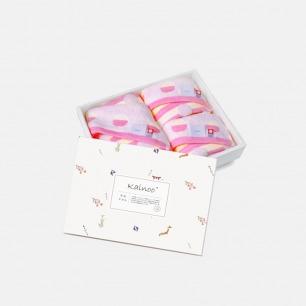 日本纯棉儿童纱布毛巾套装 | 亲肤柔软 含方巾×2 面巾×1