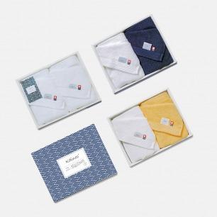 日本进口优雅素色毛巾套装 | 柔软亲肤 居家必备 面巾×2