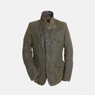英式男士涂蜡外套 007同款 | 复古英伦风 经典军绿款