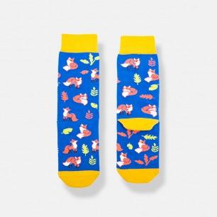 FOX时尚百搭女士中筒袜 | 趣味的色彩 值得回眸的单品