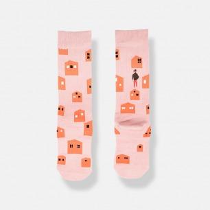 HOME时尚潮流中筒袜 | 行走在人群中的亮点
