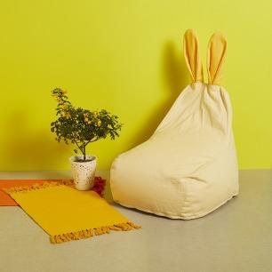 小朋友的兔子懒人沙发 | 环保、安全、舒适、颜值高