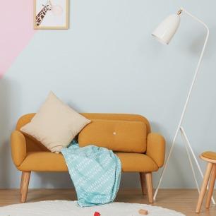 豆沙发双人款 | 环保、安全、舒适、颜值高