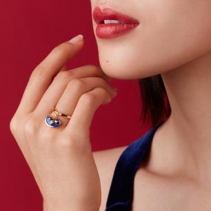 新年如意珐琅荷包系列戒指 | 将美好吉祥的寓意戴在手上