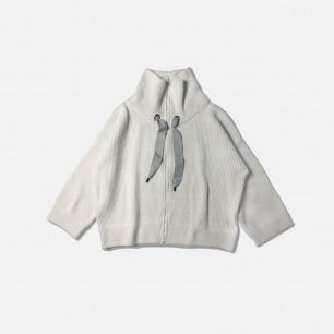 高端剪裁羊毛双拉链外套 | 定制级别纯正日本YKK拉链