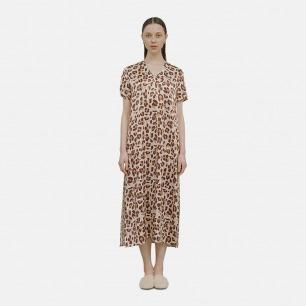 高开衩V领长裙 睡裙-3色 | 100%桑蚕丝 慵懒性感