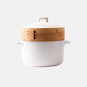 能蒸焖炖煮的全能砂锅3.3L   一锅五件套 搞定健康菜肴