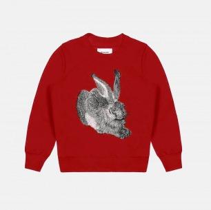 男士纯棉兔子刺绣卫衣 | 独立原创设计师品牌