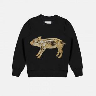 男士纯棉金猪刺绣卫衣 | 独立原创设计师品牌