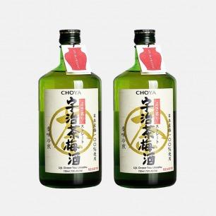 日本原装宇治茶梅酒 2瓶装 | 梅香甜美 茶味甘醇可口