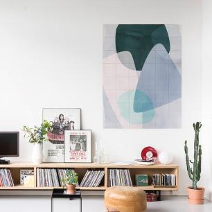 荷兰拼贴装饰画-视觉图形   德国自由艺术家Areike Boehmer的作品
