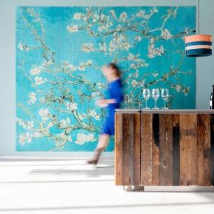 创意拼贴装饰画-杏花梵高   荷兰超火的趣味艺术画