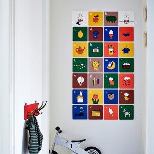 创意拼贴装饰画-米菲成长   荷兰超火的趣味艺术画