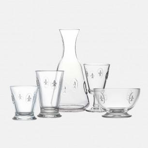 鸢尾花系列餐具酒具 | 法国最古老的玻璃器具