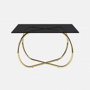 几何线条咖啡桌 简约优雅 | 充满现代设计感 2款配色