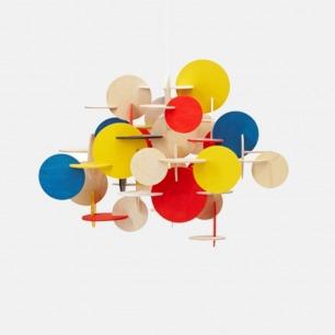 创意吊灯灯罩 自由DIY组装 | 简约别致 拼色原木色可选