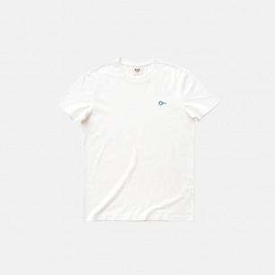 全棉圆领T恤-蓝色螺丝 | 原创印花设计 经典百搭