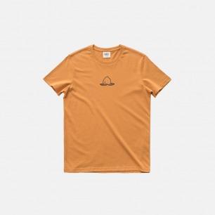 全棉圆领T恤-桃子和桃核 | 原创印花设计 经典百搭