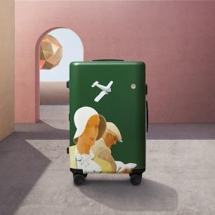 V&A博物馆合作款旅行箱-飞行 | 史上最文艺的旅行箱