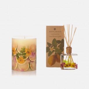 柠檬花与荔枝裸蜡、无火香薰   纯手工制作的艺术集合品