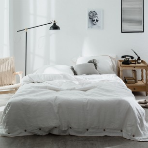 棉麻床品四件套 | 超适合裸睡的优质面料
