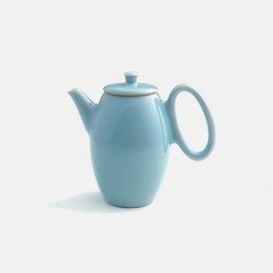 古法烧制纯天然釉料瓷壶 |  传统典雅设计的下午茶壶