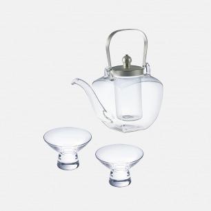 角型酒茶两用 壶+杯套组 | 小尺寸加热更便利
