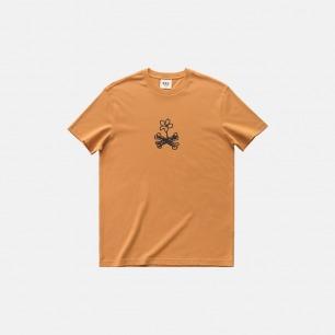 骨头和花 圆领T恤 | 全棉圆领短袖T恤