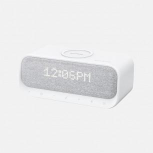 多用途床头创新音箱 | 无线充 闹钟 音响三合一