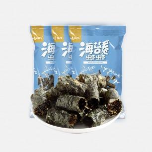 海苔卷虾虾 | 口口有虾 鲜香清脆 拒绝油炸