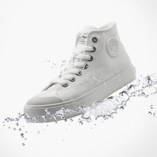 休闲百搭帆布小白鞋 | 舒适百搭防泼水,隐形增高