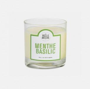 薄荷罗勒香氛蜡烛   为环境注入微风般的清新