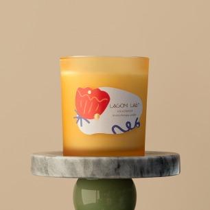 罗勒柑橘香薰烛杯 | 犹如周末的阳光一般