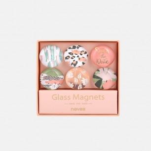 豹纹花系列玻璃磁扣 | 彰显活力和热情