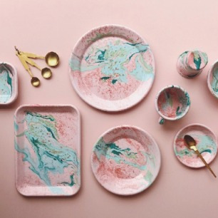 粉色大理石系列手工制品 | 来自土耳其的工艺